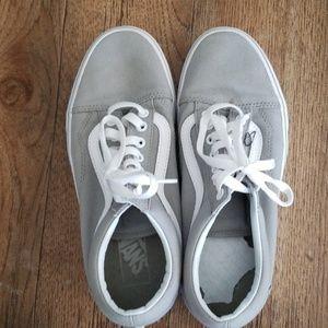 Light grey Van's